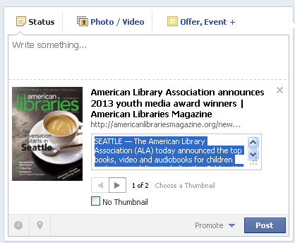 Adding a Link to a Facebook Page (5)