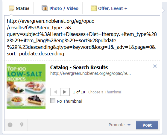 Adding a Catalog Search to Facebook (1)