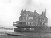 Stetson Cottage awaiting move to Marblehead