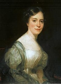 "This portrait circa mid-1800s provided by The House of the Seven Gables historic house museum, shows author Nathaniel Hawthorne's wife, Sophia Peabody Hawthorne, who died in 1871 at age 62. The Hawthornes will soon be reunited after more than 130 years. The remains Sophia and their daughter Una will be brought from England and reinterred June 26, 2006, in the Hawthorne family plot at Sleepy Hollow cemetery in Concord, Mass., where ""The Scarlet Letter"" author was buried in 1864. (AP Photo/The House of the Seven Gables)"